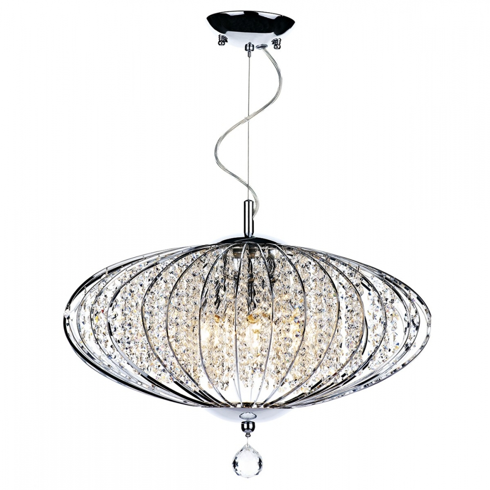 Adriatic 5 Light Crystal Pendant